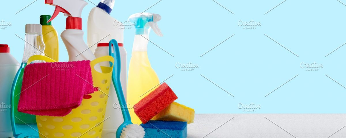 cleaning products-