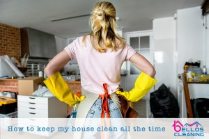 cleaning my home